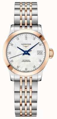 Longines   rekord   damskie   szwajcarski automatyczny   L23205877