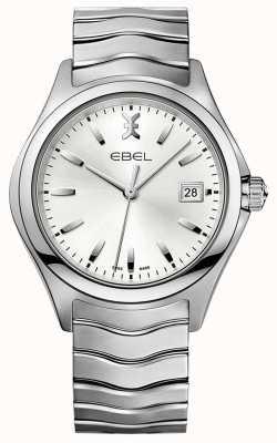 EBEL | fala męska | bransoleta ze stali nierdzewnej | srebrna tarcza | 1216200