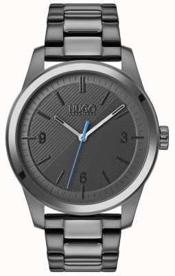HUGO #create | szara bransoletka ip | szara tarcza 1530119