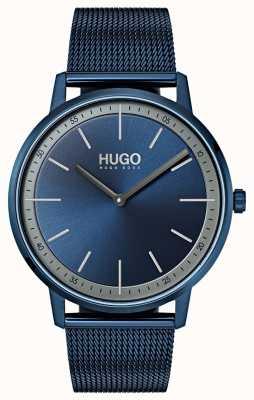 HUGO #exist | niebieska siatka ip | niebieska tarcza 1520011