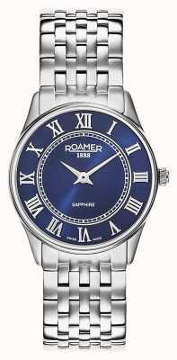 Roamer | damskie | sonata | bransoleta ze stali nierdzewnej | niebieska tarcza | 520820 41 45 50