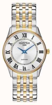 Roamer | kobiety | sonata | dwukolorowa bransoletka | srebrna tarcza | 520820-47-15-50