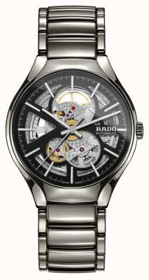 RADO Prawdziwy automatyczny zegarek ceramiczny z nowoczesnym plazmą R27510152