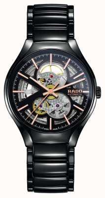 RADO Prawdziwy automatyczny zegarek ceramiczny z nowoczesnym plazmą R27100162