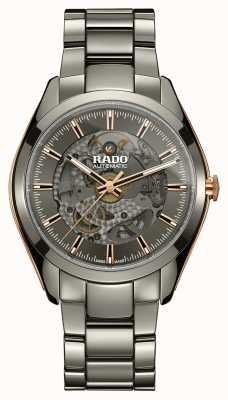 RADO Automatyczny zegarek ceramiczny Hyperchrome z otwartym sercem R32021102