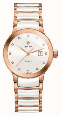 Rado Automatyczny zegarek ceramiczny z diamentami Centrix R30183742
