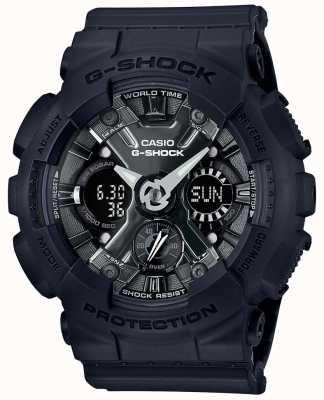 Casio | g-shock | seria s | czarna żywica | GMA-S120MF-1AER
