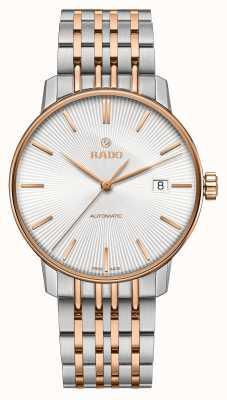 Rado Klasyczny automatyczny dwukolorowy bransoletkowy zegarek z kuponem R22860027
