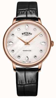 Rotary | kensington dla kobiet | masa perłowa tarcza swarovski | LS05174/41