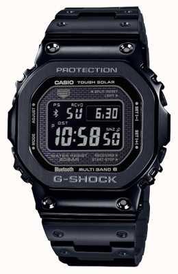 Casio | g-shock w całości z metalu | mocne słońce | wybieranie cyfrowe | czarny GMW-B5000GD-1ER