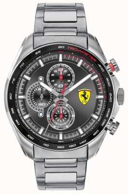 Scuderia Ferrari | speed-racer dla mężczyzn | bransoleta ze stali nierdzewnej | czarna tarcza 0830652
