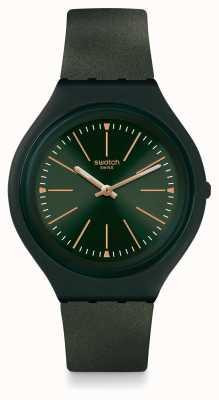 Swatch | skóra duża | zegarek skincappero | SVUG100