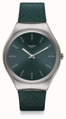 Swatch | ironia skóry | zegarek skinpetrol | SYXS121