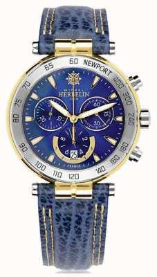 Michel Herbelin | męskie | oryginały z Newport | chronograf 37654/T35