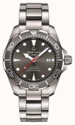Certina | ds action | nurek powermatic 80 | tytan | C0324074408100
