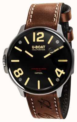 U-Boat Capsoil ss elektromechanika brązowa skóra 8110/A