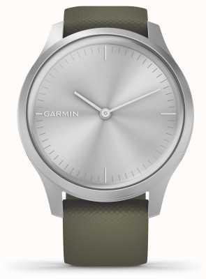 Garmin Styl Vivomove | srebrna aluminiowa obudowa | silikonowy pasek z mchu 010-02240-01