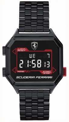 Scuderia Ferrari | digidrive dla mężczyzn | bransoletka jonowa | czarna tarcza | 0830704
