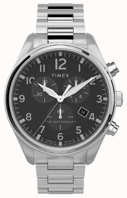 Timex | Waterbury tradycyjny chronograf 42mm | Stal nierdzewna TW2T70300