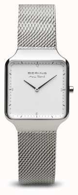 Bering | max rené | kobiety polerowane srebro | bransoletka ze stali | 15832-004