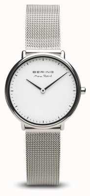 Bering | max rené | kobiety polerowane srebro | bransoletka ze stali | 15730-004