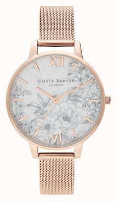 Olivia Burton | damskie | lastryko florals | bransoletka z różowego złota | OB16TZ04