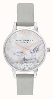 Olivia Burton | damskie | zimowa kraina czarów śnieżny kryształowy króliczek | OB16WL86