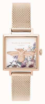 Olivia Burton | damskie | zaczarowany ogród | 3d pszczoła | różowe złoto | OB16EG152