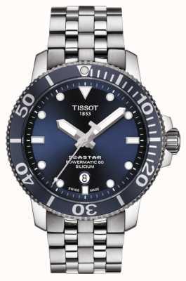 Tissot | seastar 1000 powermatic | bransoleta ze stali nierdzewnej | T1204071104101