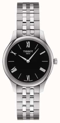 Tissot | tradycja kobiet | bransoleta ze stali nierdzewnej | czarna tarcza T0632091105800