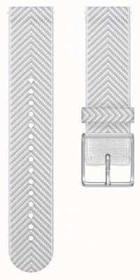 Polar | zapalić tylko pasek na nadgarstek z tkaniny | biały chevron s / m 91080475