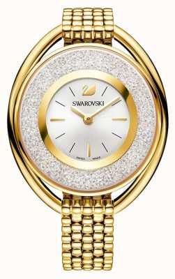 Swarovski Krystaliczny | owalny | złota bransoletka pvd | srebrna tarcza 5200339