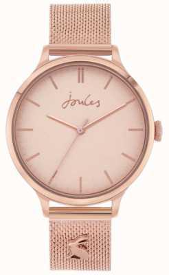 Joules Ryton | bransoletka z różowego złota | złota tarcza | JSL026RGM