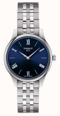 Tissot | tradycja | damska bransoletka ze stali nierdzewnej | niebieska tarcza | T0632091104800