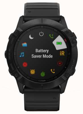 Garmin Fenix 6x pro | czarny silikon | multisportowy smartwatch 010-02157-01