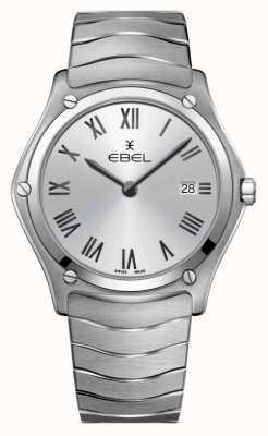 EBEL | klasyczny męski sport | bransoleta ze stali nierdzewnej | srebrna tarcza 1216455A