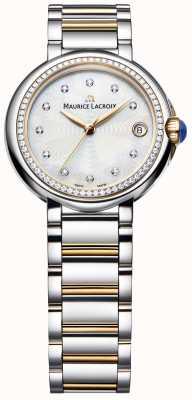 Maurice Lacroix Damski zestaw diamentów Fiaba z dwukolorową masą perłową FA1004-PVP23-170-1