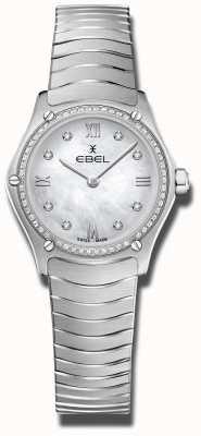 EBEL | klasyczny sportowy damski | stal nierdzewna | tarcza diamentowa 1216475A