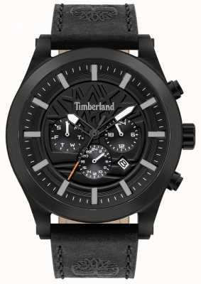 Timberland Doświadczony na ulicy | czarny skórzany pasek | czarna tarcza | 15661JSB/02