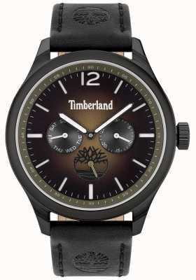 Timberland Lifestyler miejski | czarny skórzany pasek | czarna tarcza | 15940JSB/19