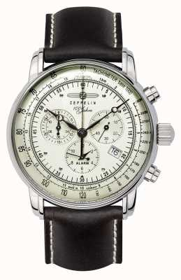 Zeppelin 100 lat | szwajcarski kwarc | zegarek z chronografem 8680-3