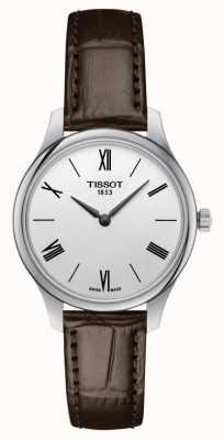 Tissot | tradycja 5.5 dama | brązowa skóra | T0632091603800