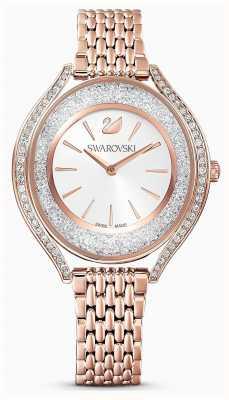Swarovski | damskie | krystaliczna aura | bransoletka z różowego złota | 5519459