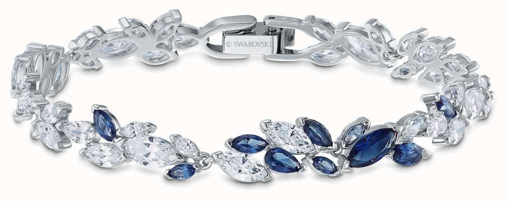 Swarovski | bransoletka Louison | niebieskie i białe kryształy | 5536548