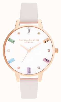 Olivia Burton | damskie | kwiat tęczy | różowe złoto | OB16RB22