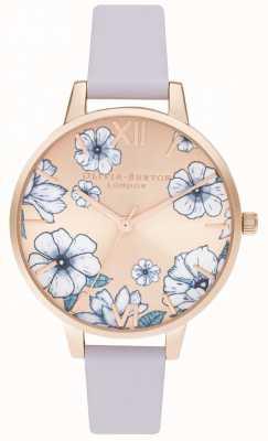 Olivia Burton Parama fioletowo-różowe złoto OB16AN03