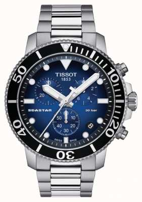 Tissot Męski Seastar 30 Bar 1000 Chrongraph T1204171104101