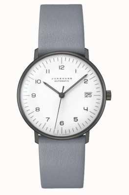 Junghans Max rachunek automatyczny   38 mm czarno-biały 027/4007.04