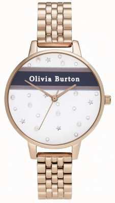 Olivia Burton Kobiety | demi | uniwerek | różowe złoto pvd OB16VS06
