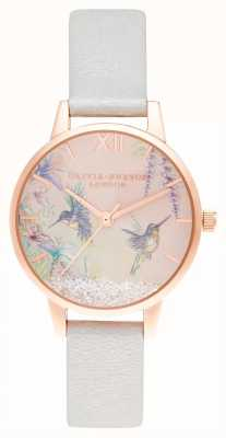 Olivia Burton Wishing Wishing Wings Midi mieniąca się perłą i różowym złotem OB16PP61